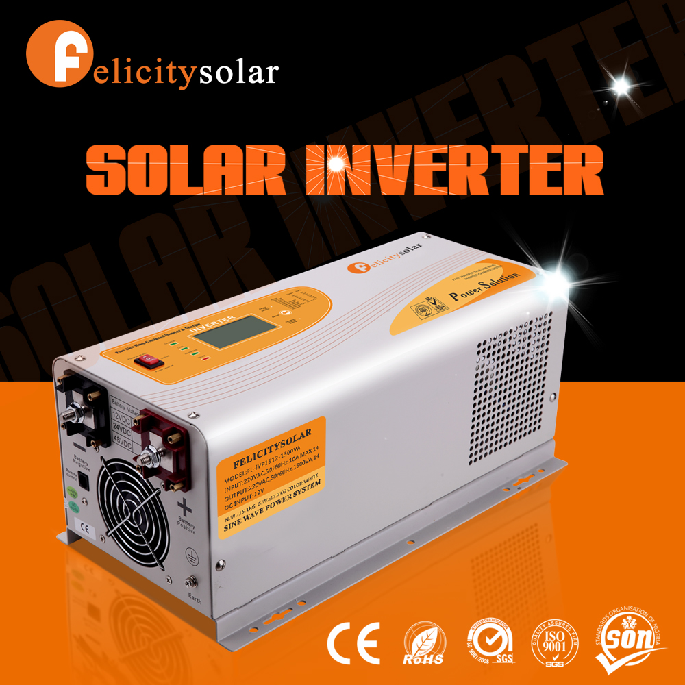 Off grid hybrid solar power 1000watt inverter for solar system