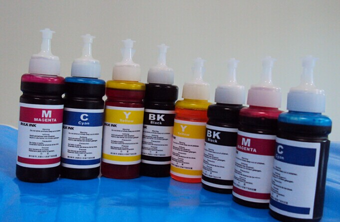 Qualified China Water Based Dye Ink For Epson L800 L801