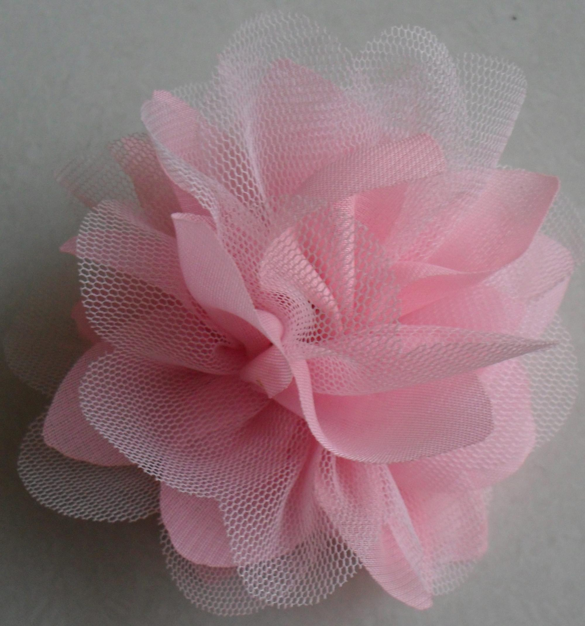 Wholesale 10cm Chiffon Fabric Artificial Flowerhandmade Artificial