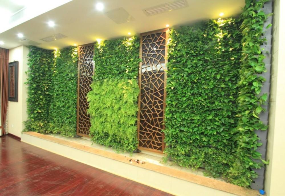 Gros Gazon Artificiel Mur/jardin Vertical Mur Vert/faux Mur Végétal ...