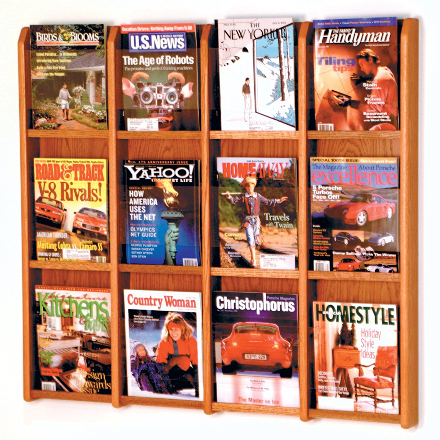 Fixture Display Divulge? 12 Magazine Wall Display 104384