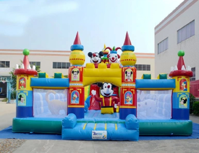 High Quality Inflatable Mickey Mouse Playground Bounce Castle Amusement Park