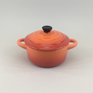 Dinner Catering high quality stoneware casseroles dish hot pot mini casserole with lid