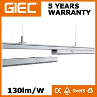 40W 5ft led track rail light mounting led linear trunking lamp fixture 5 years warranty