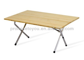 Action Buy De Bambou Une Pliant En Table Camping Pliante On Product CxBoWdre