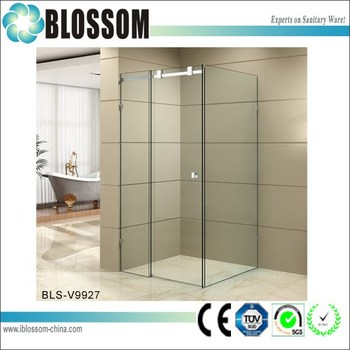 Easy Install Bathroom Sliding Door Glass Shower Cabin Portable - How to install bathroom sliding door