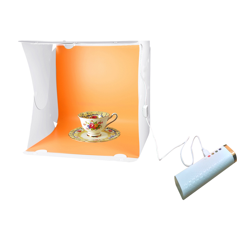 Light tent& LED Studio Light box studio stooting photography kit,jewelry photo light box led