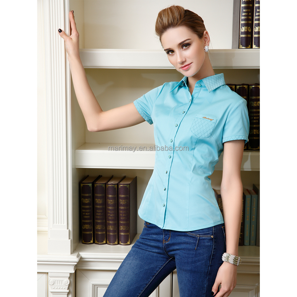 Chinese Wholesale Latest Design New Blouse Pattern With Special ...