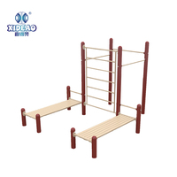 XA-Z60014 parallel bars fitness, street workout equipment, garden gym outdoor