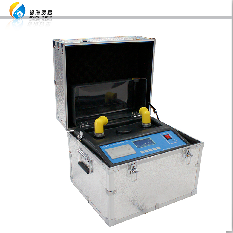 portable 80 kv determine dielectric strength of transformer oil test unit