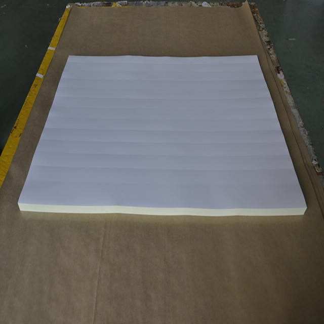 manufacturer offset printing self adhesive sticker paper