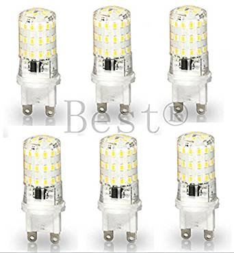 Get Quotations Best To 6 Pack G9 Base Led Light Bulb Lamp 5