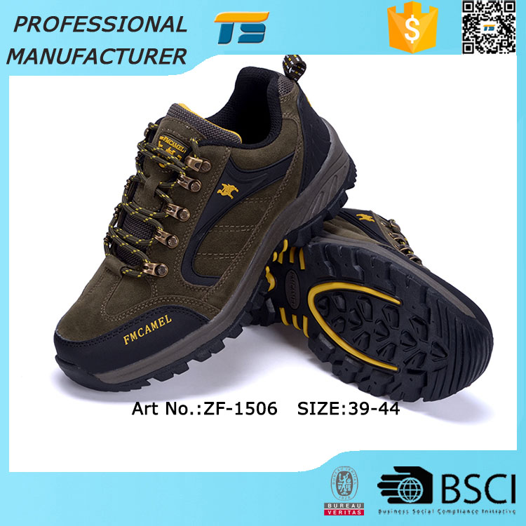 High Quality Men Waterproof Action Trekking Shoes