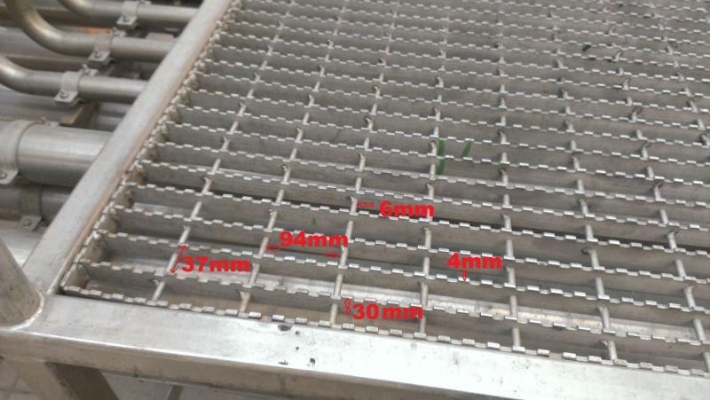 Safety Grating Walkway Mesh Steel Mesh Flooring Steel