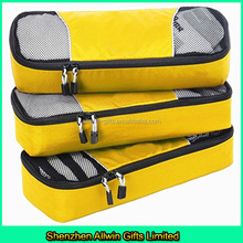 2015 New High quality slim packing cubes for travel