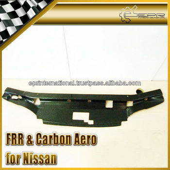For NISSAN SKYLINE R33 GTST Garage Defend Carbon Fiber Cooling Slam Panel