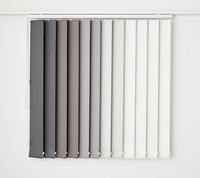 Hot-Selling with Exceptional Quality of Cheap Price White Coated Window Shades Vertical Blinds