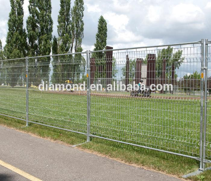 Australia Security Hot-dipped Galvanized Welded Wire Temporary Fence
