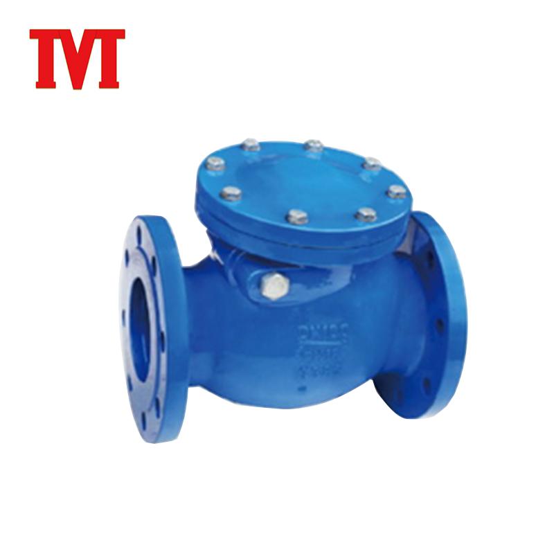 butterfly swing check clack control water valve with timer