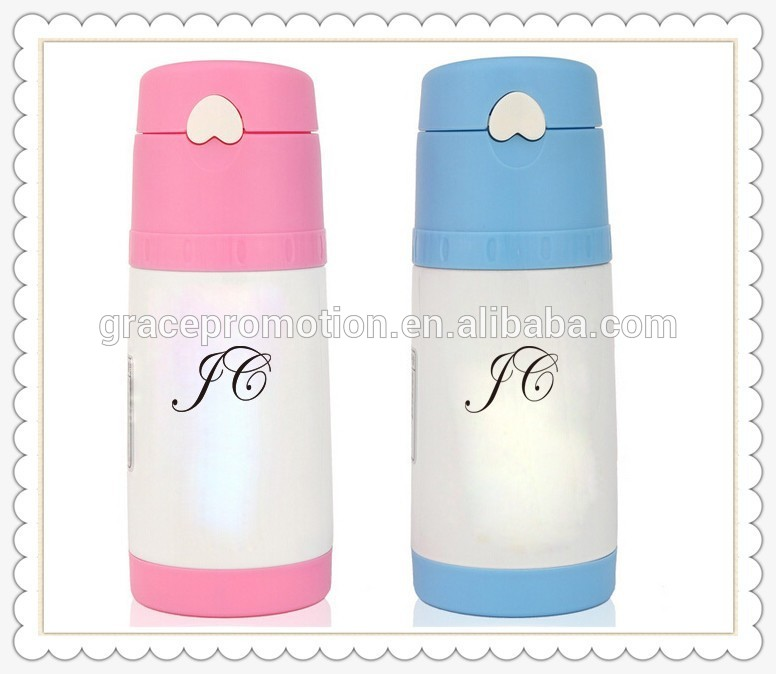 New Cartoon Style Vacuum Flask Stainless Steel Coffee Bottle Thermos for kids