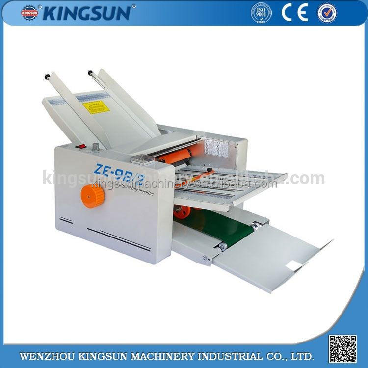 New Type Hot Sale and Good Quality Paper Staple And Folding Machine