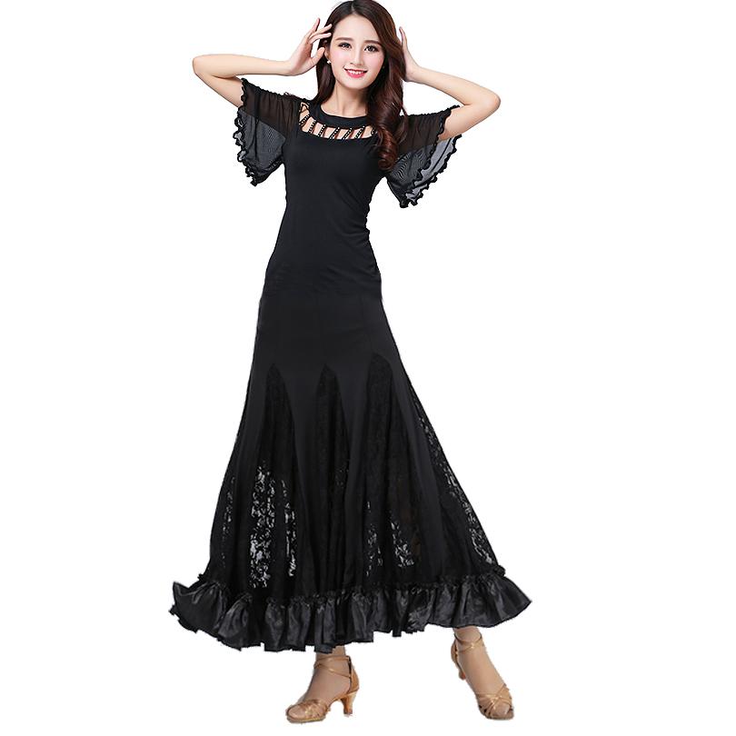 3bf0e2d3e Las mujeres baile blusas y falda competencia Estándar  Moderno/vals/Tango/Foxtrot/Quickstep/Flamenco rendimiento