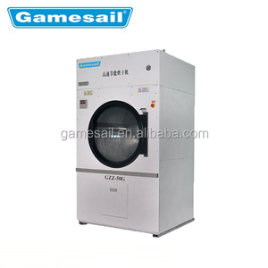 Top Qaulaity Full-auto 50kg Commercial Hotel Laundry Washer And Dryer Machine with CE,ISO9001