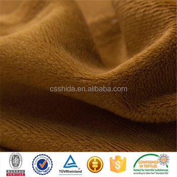 Cable Knit Sweater Fabric Velboa China
