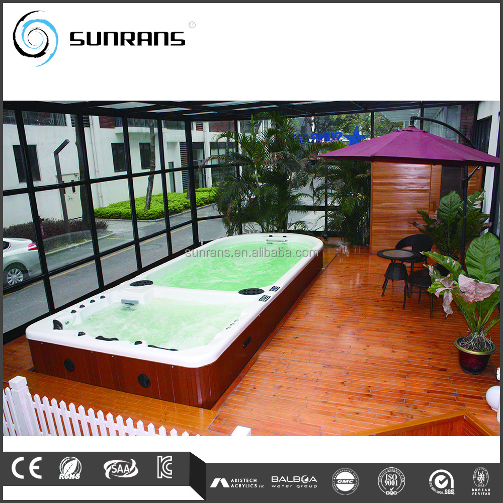 acrylique piscine spa rectangulaire hors sol piscine grande cour en plastique dur couverture. Black Bedroom Furniture Sets. Home Design Ideas