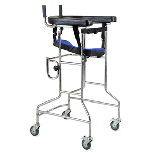 Foldable small portable multifunctional walker for the elderly