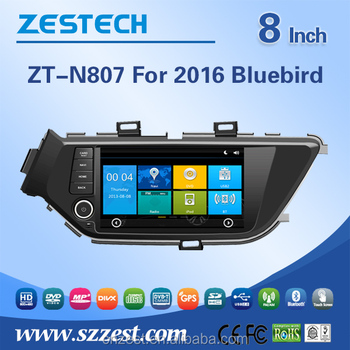 New Coming Double Din Dvd For Nissan Bluebird Sylphy Dashboard Placement  With Bluetooth Stereo Tv - Buy For Nissan Bluebird Sylphy Dashboard,For