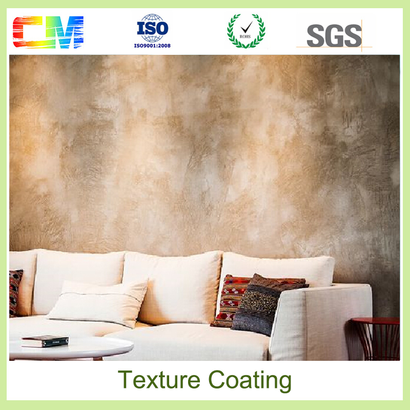 Flame retardant dust proof texture group abstract oil painting texture wall coating for indoor building