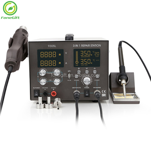 3 In 1 BGA SMD Rework Station With Hot Air Welding Gun, Soldering Station Hot Air 3 In 1