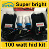 Wholesale price 12v 24v 100watt Xenon Hid Kit 3000k,6000k,10000k china manufacturer