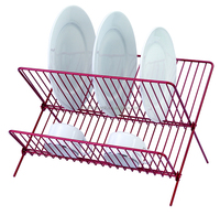 X Chrome Plated Wire Kitchen Dish Rack