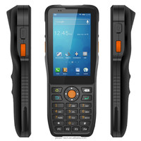 multi touch capacitive screen 1D 2D QR barcode collection rugged phone