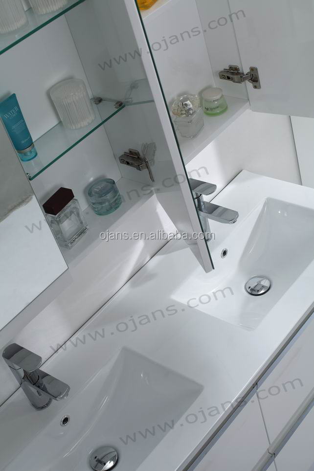 1200mm length bath furniture vanity with mirror cabinet OJS040-1200