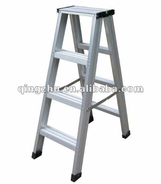 A Type Aluminium Double Side Ladder