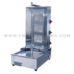 TT-WE1402B 3 Burners Gas Doner Kebab Grill Shawarma Making Machine