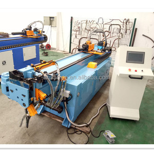 1 2 3 4 Inch DW75CNC Serpentine Stainless Steel Copper Hydraulic 3D Automatic CNC Square Tube Bending Machine Used