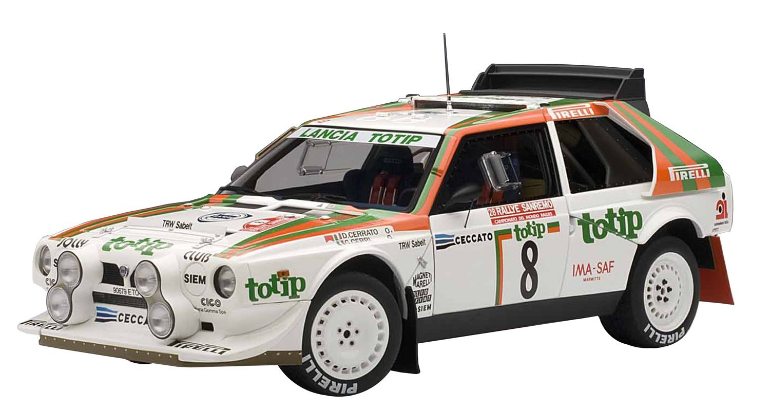 buy autoart 1/18 lancia delta s4 1986 # 8 (san remo rally in 2