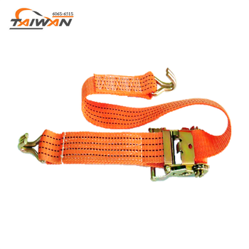 cargo hanging double J hooks and ratchet tie down
