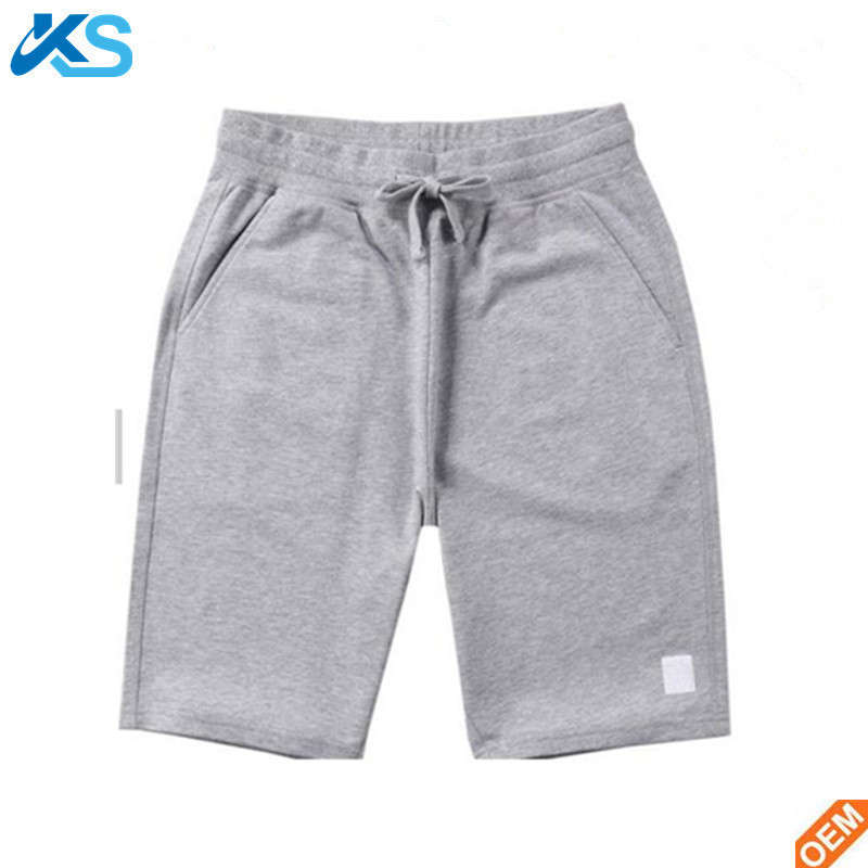 Wholesale Low MOQ Men's Short Pants Custom sport running 100%cotton Athletic Shorts pants