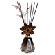 Home Decoration Lavender Fragrance Wood Aroma Reed Diffuser Set/Glass