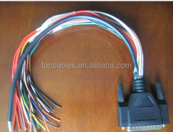 db25 with open unterminated wiring harness buy unterminated wiring rh alibaba com Wiring Harness Terminals and Connectors Truck Wiring Harness