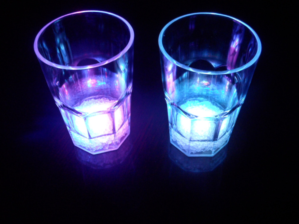 Novelty Party Favor Promotion LED Light up old Fashioned Whisky Glass Cup light up Drinkng Glass Whisky Cups