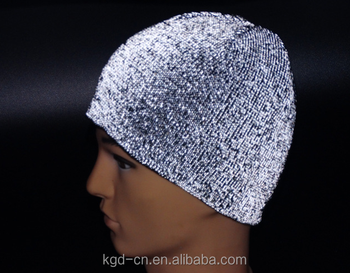 Runner Reflective Knit Beanie Hat - Buy Reflective Knit Hat c0c3367a310