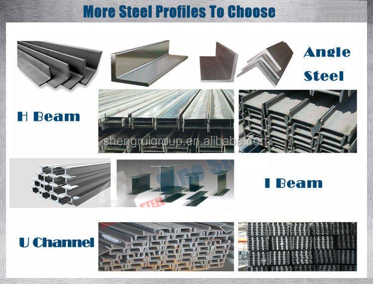 Q235/q345b/q420/q460/st37-2/st52 Ss400 Ah36 Galvanized Steel U ...