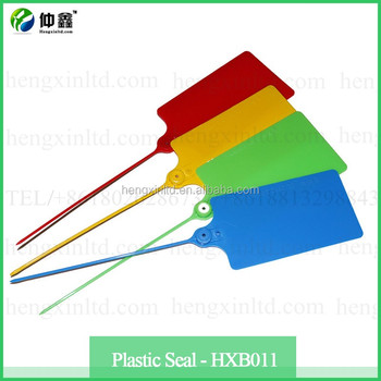 Plastic Seal Security Pull Tag