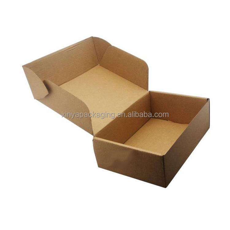 XINYA Cheap Products Fashion Shoes Cardboard Packaging Carton Shipping Corrugated Custom Box Printing